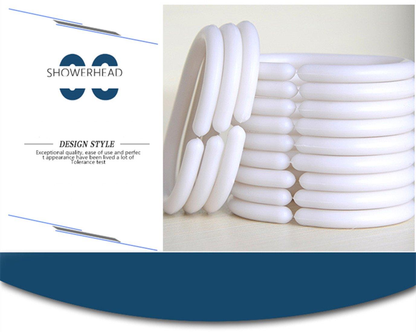 Impermeabile Muster-d 240 x 200 cm con 12 Anelli per Tenda da Doccia B*H 240 x 200 cm X-Labor Lavabile Tenda da Doccia 180 * 200cm in Tessuto antimuffa
