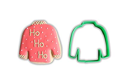 Ugly Christmas Sweater Cookie Cutter Large 4 Inches