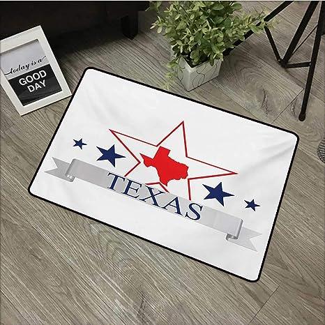Amazon Com Texas Star Machine Washable Carpet San Antonio