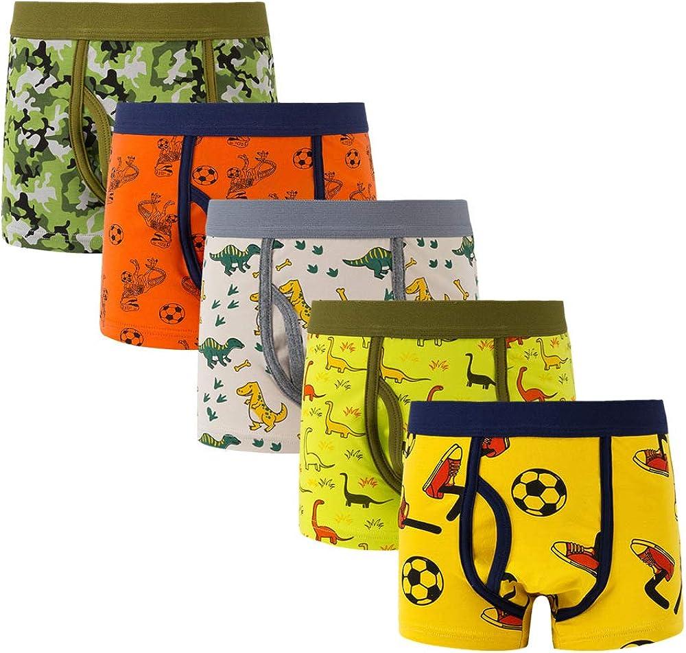 Morbuy Boxer Briefs 5 PCS Baby Boxershorts M/ädchen Baumwolle Unterw/äsche Unterhosen Kleinkinder Schl/üpfer Kinder H/öschen Kleinkind M/ädchen Unterw/äsche Fit Alter 1-7