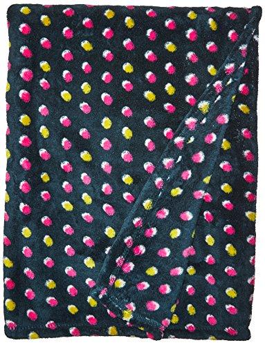 Falling Dot - Vera Bradley Fleece Travel Blanket, Falling Dots