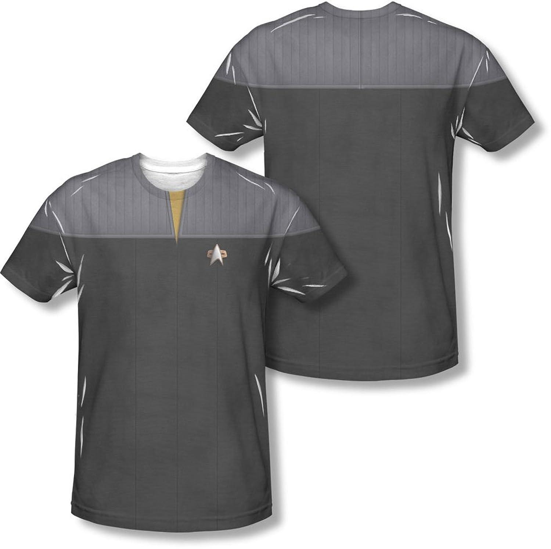 Star Trek - Mens Tng Movie Engineering Uniform (Front/Back Print) T-Shirt