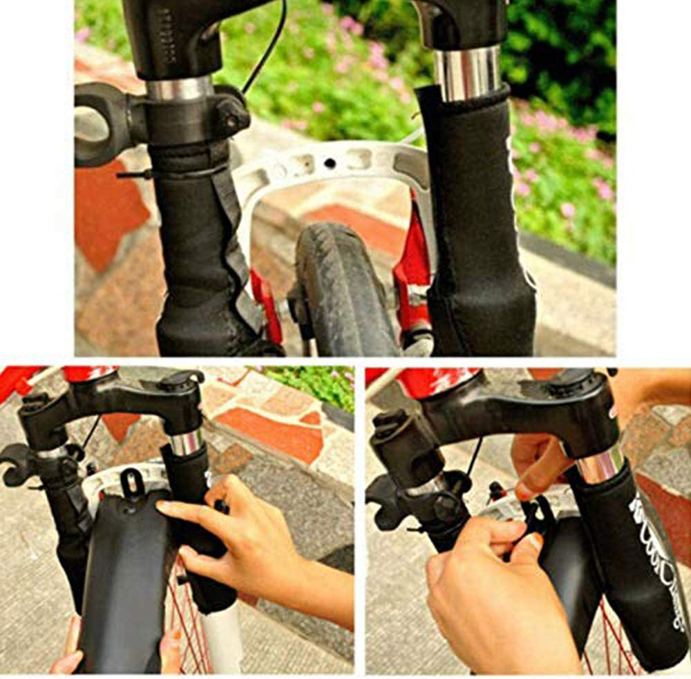 Color : Black VOANZO Bicycle Fender 1 Set Bike Front Rear Mudguard Bicycle Tire Fender Dovetail Style Mud Guard for Cycling Mountain Bike Road MTB