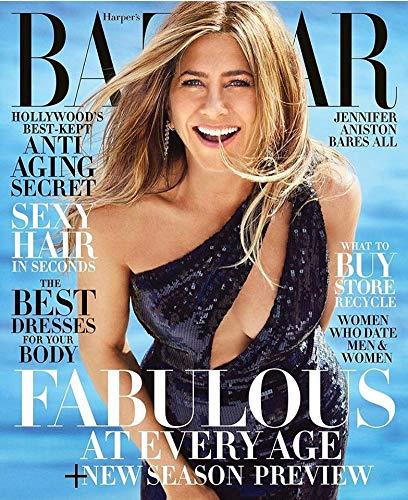 Harper's Bazaar Magazine (June/July 2019) Jennifer Aniston - Covers Bazaar Magazine