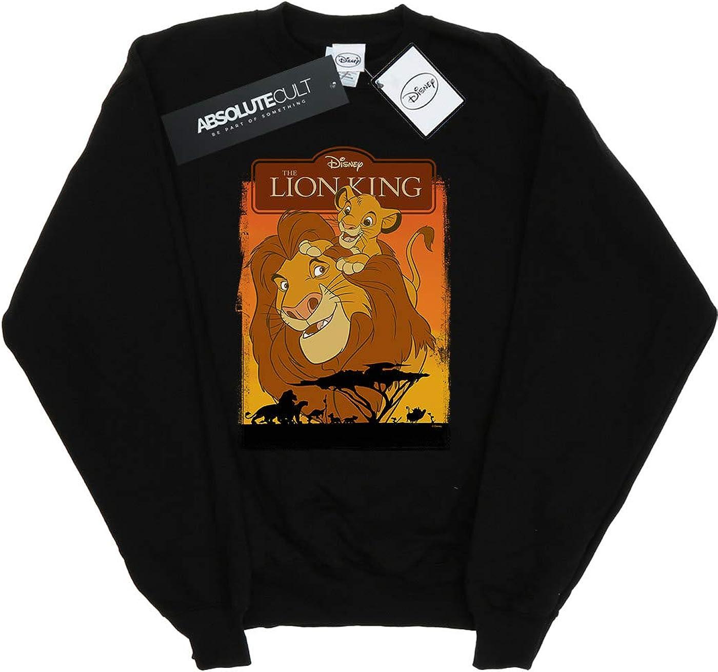 Disney Girls The Lion King Simba and Mufasa Sweatshirt