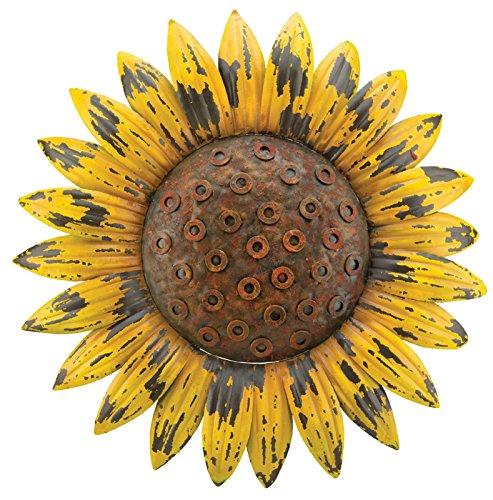 Regal Art & Gift Rustic Flower Wall Decor, Sunflower