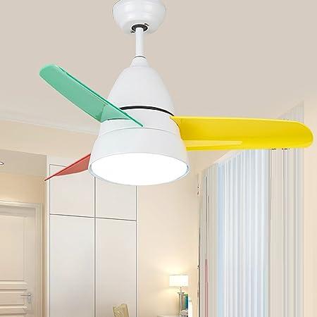 RAING Araña de ventilador de color de habitación de niños ...