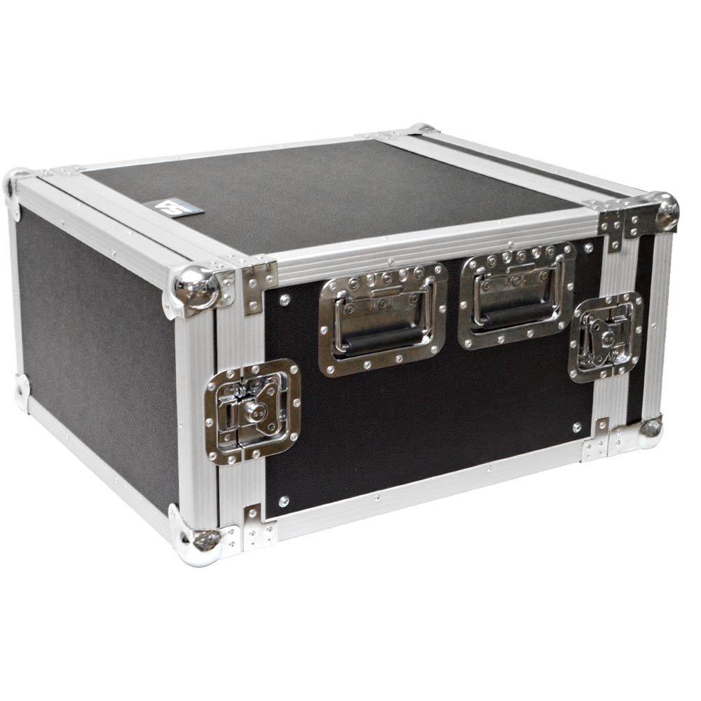 6 SPACE RACK CASE for Amp Effect Mixer PA/DJ PRO Audio Seismic Audio SAR6