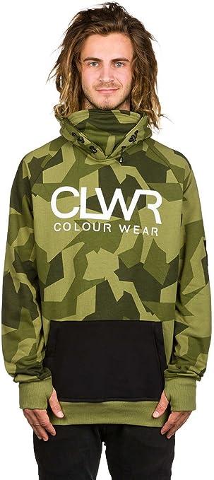 Colour Wear Herren Kapuzenpullover CLWR Hoodie: