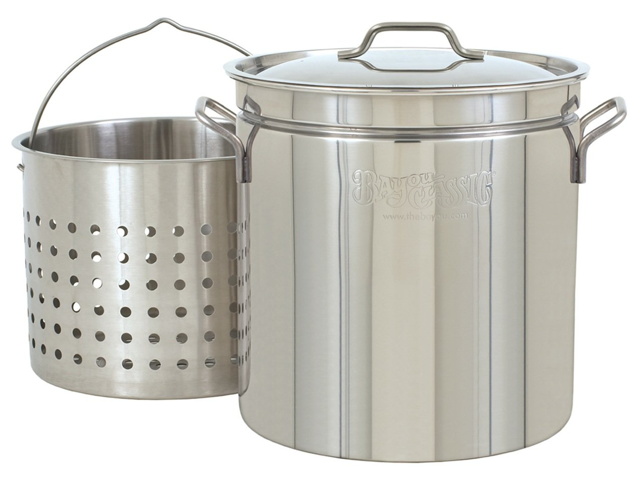 Bayou Classic 24-qt Stainless Stockpot by Bayou Classic