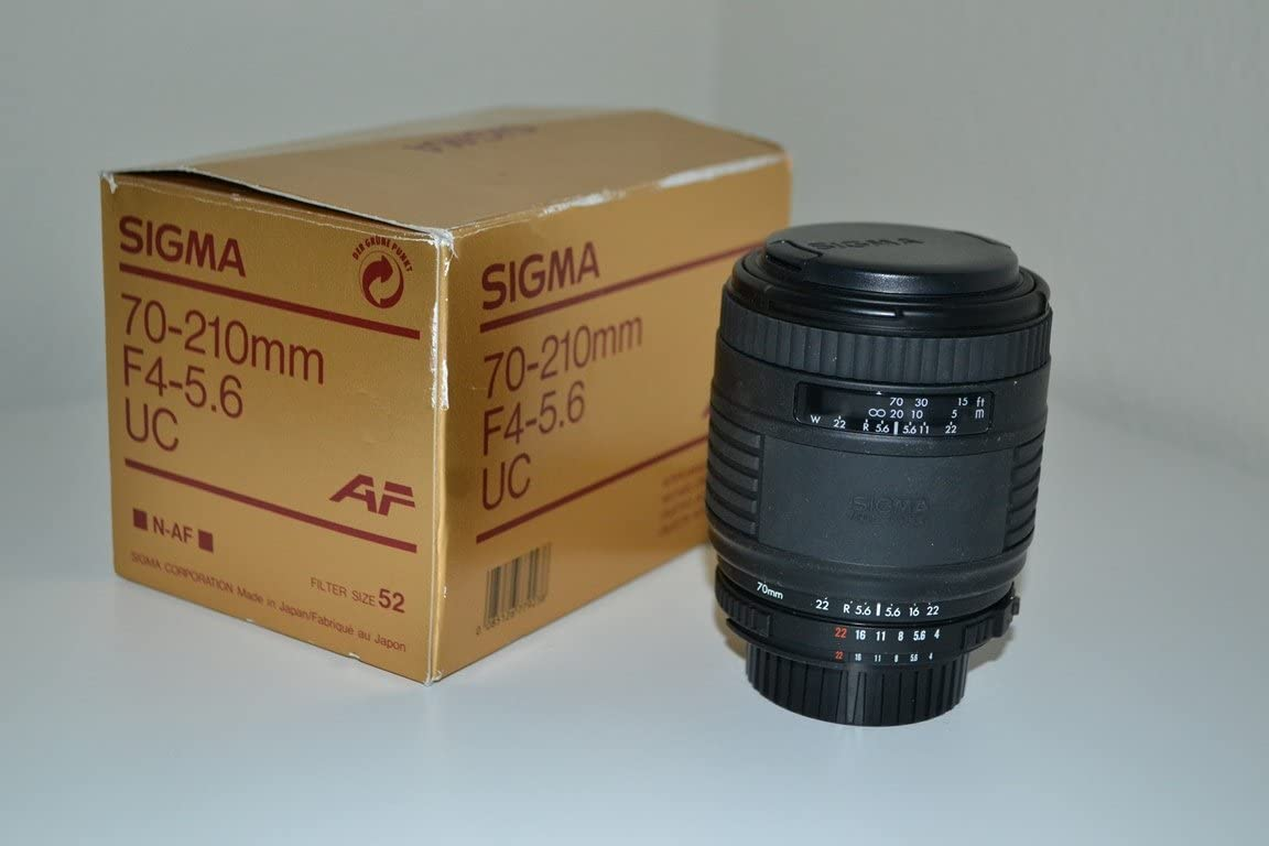 Sigma 70-210mm f4-5.6 UC AF for Minolta