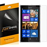 [6-Pack] Supershieldz- High Definition Clear Screen Protector for Nokia Lumia 925 + Lifetime Replacements Warranty [6-PACK] - Retail Packaging