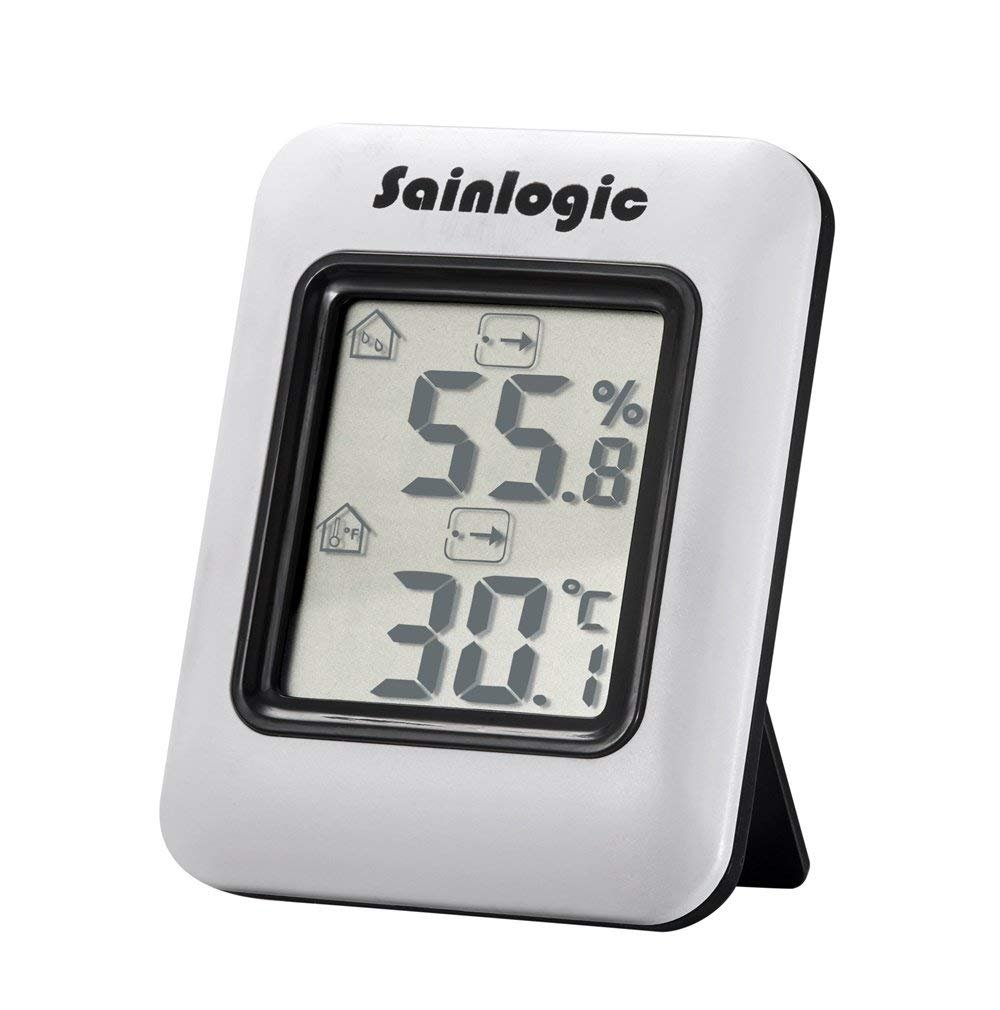 Sainlogic Hygrometer Digital, Thermometer Humidity Monitor Indoor with Temperature Humidity Gauge s-1