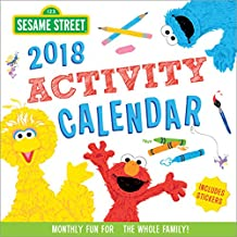 2018 Sesame Street Activity Calendar: Monthly Fun for the Whole Family!