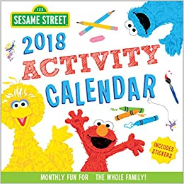 photo about Sesame Place Printable Coupons referred to as 2018 Sesame Highway Recreation Calendar: Regular Exciting for the
