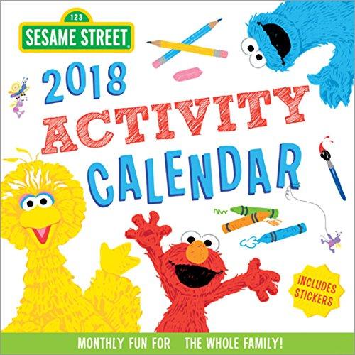 2018 Sesame Street Activity Calendar: Monthly Fun for the Whole Family! Sesame Street Art Workshop