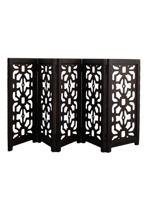 Artesia Freestanding Wood Pet Gate - 5 Panel Expansion Large Size