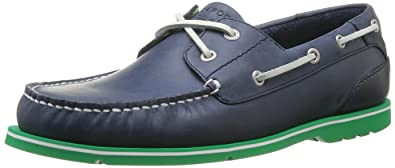 Summer Tour 2 Eye Boat, Chaussures bateau homme - Bleu (Oceano), 46 EU (11.5 US)Rockport
