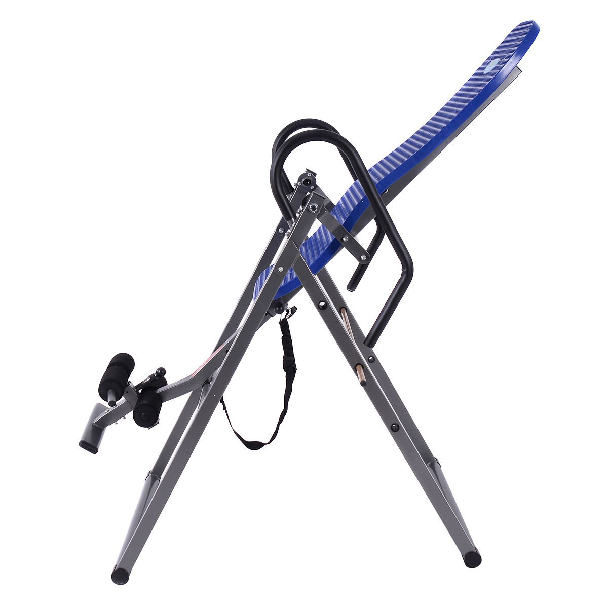 New Foldable ABS Inversion Table Gravity Therapy Back Pain Fitness Reflexology Blue by MTN Gearsmith (Image #3)