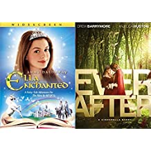 Ever After & Ella Enchanted DVD Set Classic Family Fantasy Movie Bundle Fairy Tale Double Feature