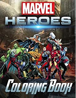 Marvel Super Heroes Coloring Book Unite Avengers Guardians Of The Galaxy
