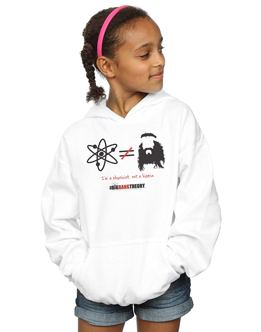 The Big Bang Theory Girls I Am A Physicist Not A Hippie Hoodie
