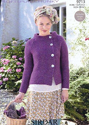 Sirdar Softspun Chunky Knitting Pattern 9713 Amazon Kitchen