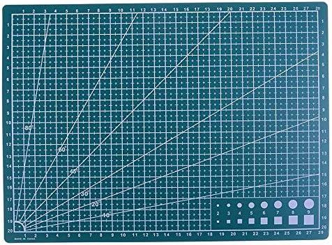 30 X 22cm Snijplaat A4 Mesh Line Zelfgenezende Snijpad Proces Papier Jam Leer Karton Groen