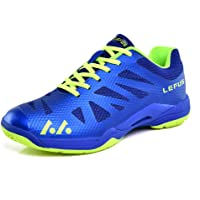 Mengxx Chaussures de Badminton Légères pour Hommes Et Femmes Baskets Antidérapantes Respirantes Chaussures de Sport Confortables