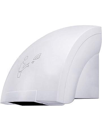 Secador de manos eléctrico con fotocélula, automático, de pared
