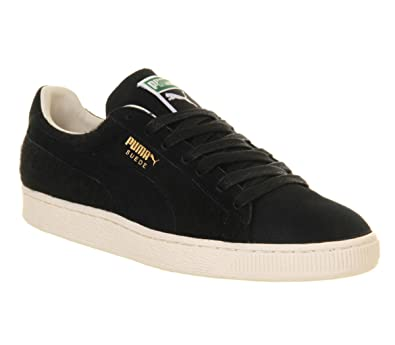 5033233f6197 Puma Suede City Menswear Black White Swan - 9 UK  Amazon.co.uk  Shoes   Bags