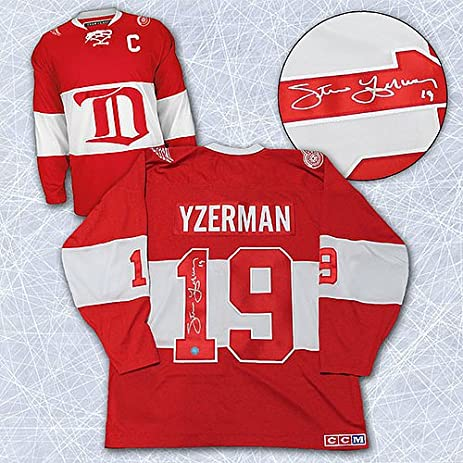 ... usa steve yzerman detroit red wings signed winter classic alumni jersey  autographed hockey jerseys 27466 cf219 a82b0d5ed