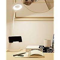 Lámpara Escritorio LED, Flexo LED escritorio, 3 Niveles de Brillo Panel Táctil Luz Flexo de Escritorio, Lámpara de Mesa…