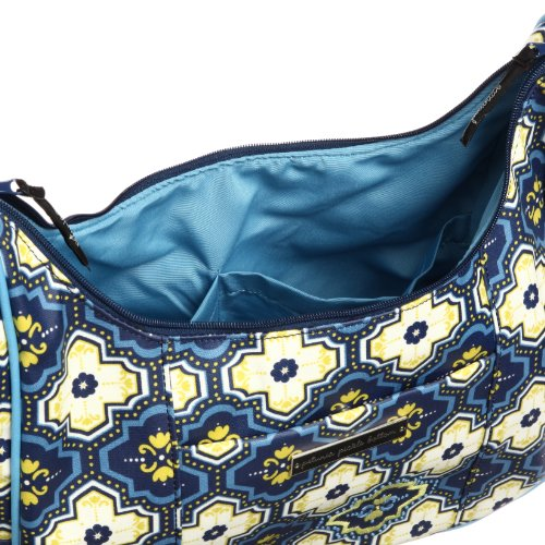 Petunia Pickle Bottom Touring Tote - Bolsa de maternidad, diseño Glazed Mystic Mykonos