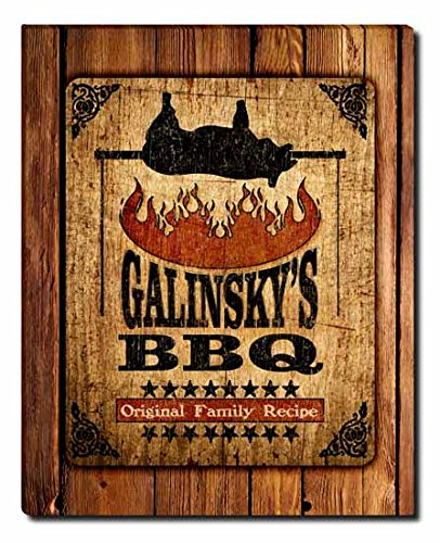 Galinsky Print (Galinsky's Barbecue Gallery Wrapped Canvas)