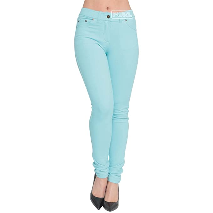 7ad1bb154d0 Ladies Skinny Jeans Fit Coloured Jeggings Womens Pencil Stretchy Trousers  Long Legs Denim Pants UK Plus Size 8-26  Amazon.co.uk  Clothing