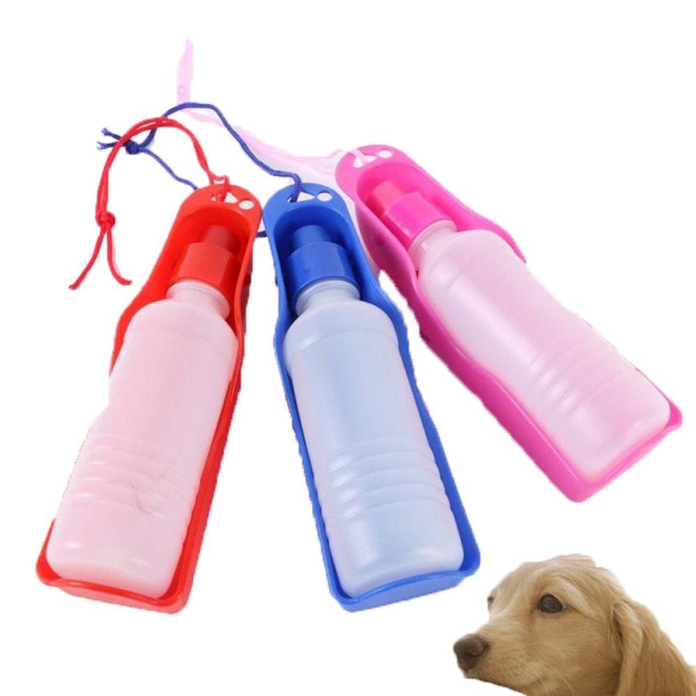 FOVIUPET Botella de Agua Portátil para Mascotas, para Viajes, Taza de Bebida, comedero para Perros y Gatos, Mascotas Pequeñas