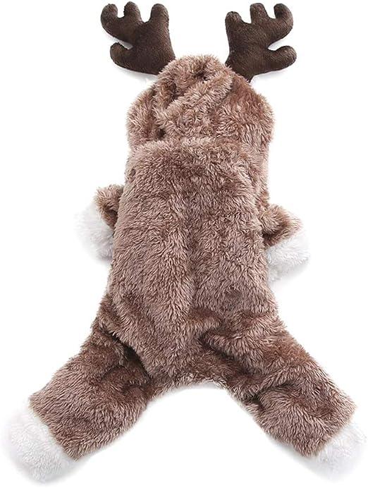 Kineca Elk Ciervo con Forma de Oveja Bulldog de Navidad, Abrigo ...