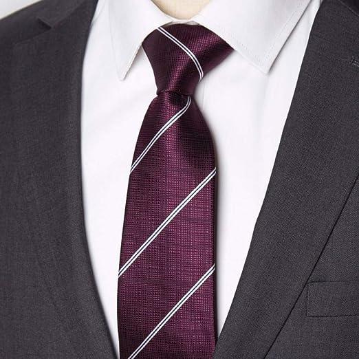 XZ Corbata de moda para hombre, corbata de negocios, 8 cm, corbata ...