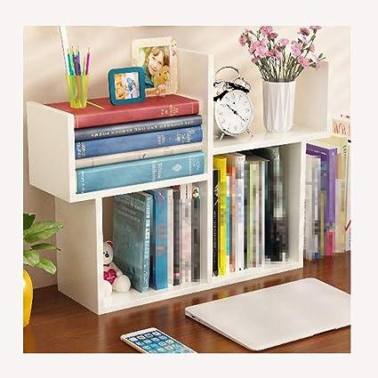 the best attitude 37ad7 4a84a Amazon.com: OSHA Desktop Small Bookshelf, Simple Table Mini ...