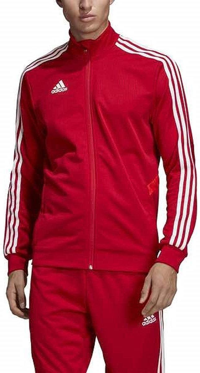adidas Men's Tiro 19 Track Suit (M Jacket/M Pant, Red/White)