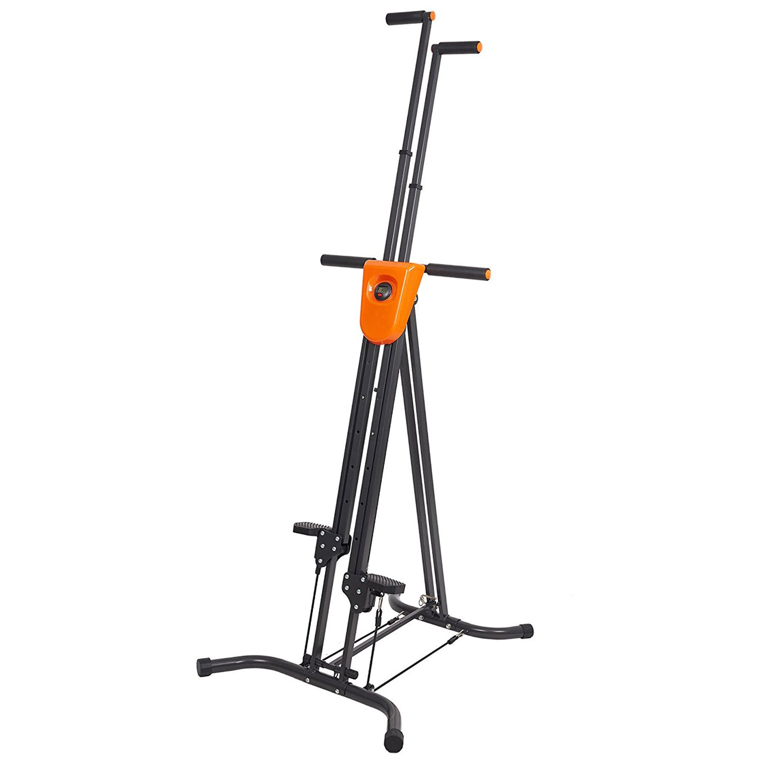 KARMAS PRODUCT Step Machine Climbing Vertical Climber Fitness with Digital Display