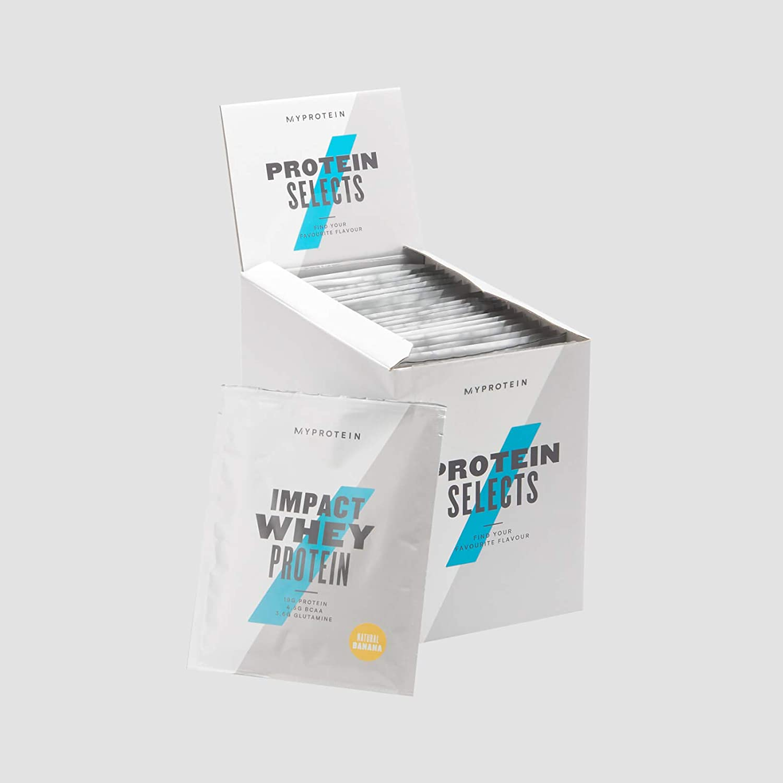マイプロテイン MPセレクトプロテインボックス (お試しBOX,味ランダム20袋)