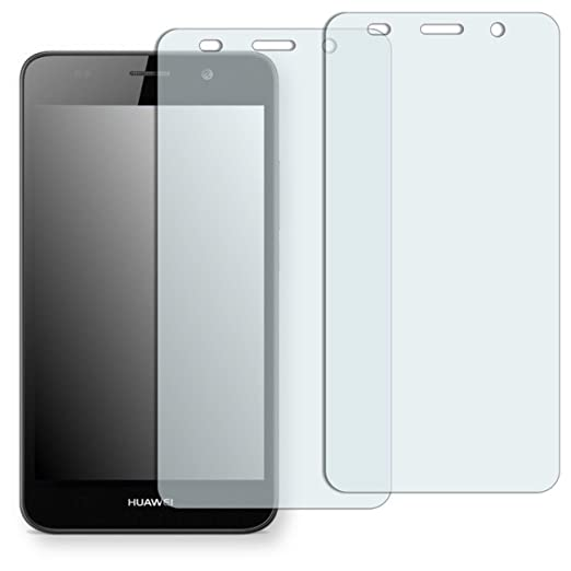 12 opinioni per 2 x Golebo Crystal Pellicola Protettiva per Huawei Y6- (Trasparente, Montaggio