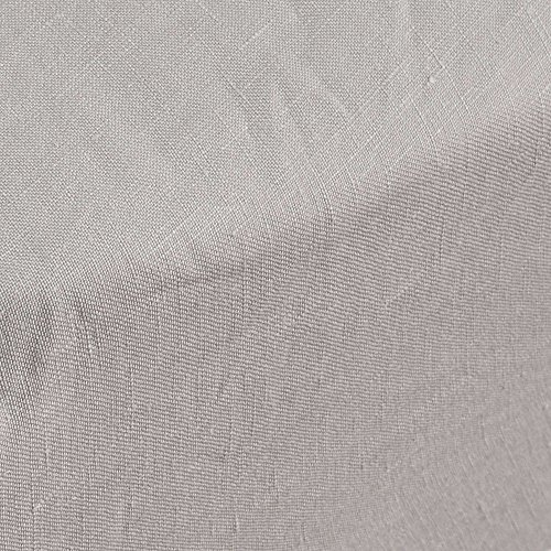 Madura Drap Housse Carlina Lin 100% , cm Tissu, Beige Clair, 200 x 180 cm , 4ddcb4