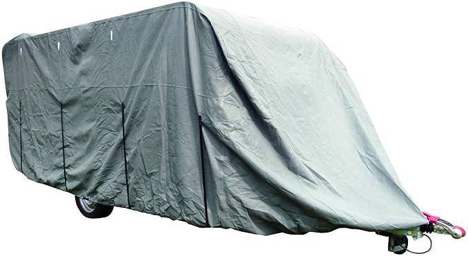 Schutzhülle Robust Für Wohnwagen Bis 4 6m Länge 2 50 X 2 20 M Breite X Höhe Auto