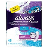 Discreet, Incontinence Pads, Maximum, Regular Length, 48 Count