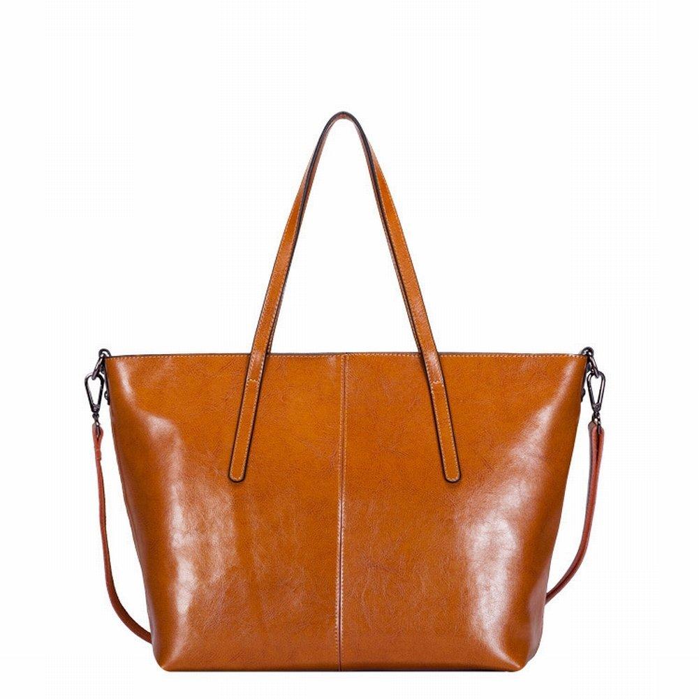 Wasser Weiches Leder Schulterdiagonale Handtasche , khaki