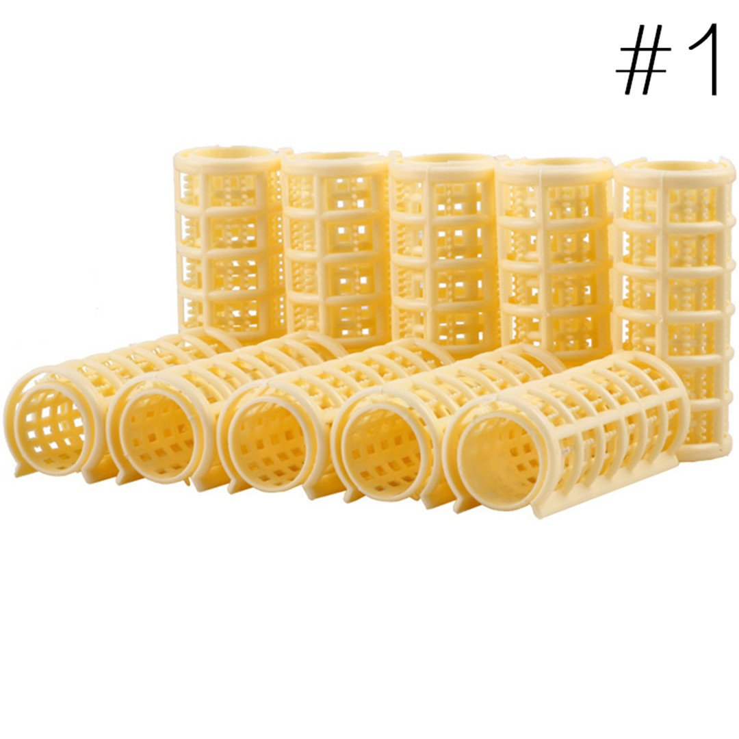 Hair Curlers DIY Hair Salon Curlers Rollers Tool Soft Large ing Tools Plastic 6/8/10/12Pcs 6pcs by HAHUHERT (Image #4)