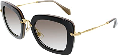 f8eaeb5adcd7b Image Unavailable. Image not available for. Color  MIU MIU NOIR SUNGLASSES